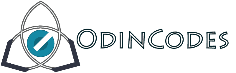 Odin codes logo - hor